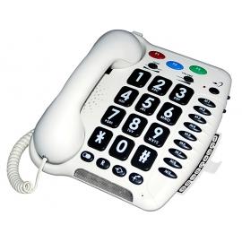 Extra zesílený telefon pro nedoslýchavé CL100