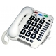 Zesílený telefon pro nedoslýchavé s nastavitelnou hlasitostí CL100