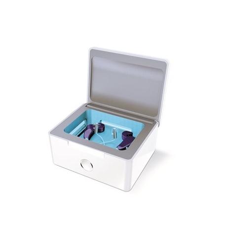 Elektrická sušička na odvhlčení sluchadla s UV lampou PERFECT DRY LUX