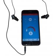 Zesilující sluchátka k mobilnímu telefonu a tabletu pro nedoslýchavé HEAR2